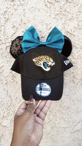 Mouse Ear Team Hat- Jaguars