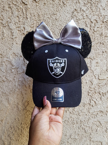Mouse Ear Team Hat- Raiders