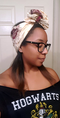 Marauders Pin Up Turban Headband