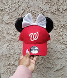 Mouse Ear Team Hat- Washington Nationals