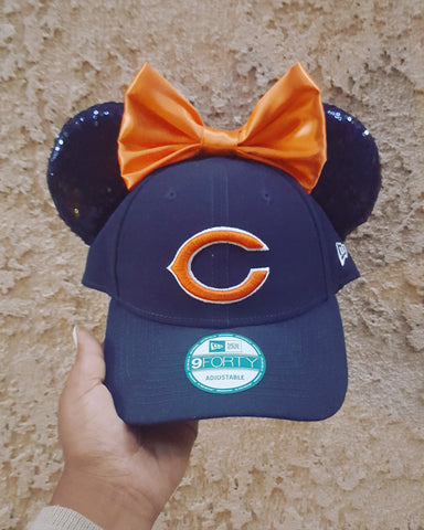 Mouse Ear Team Hat- Chicago Bears
