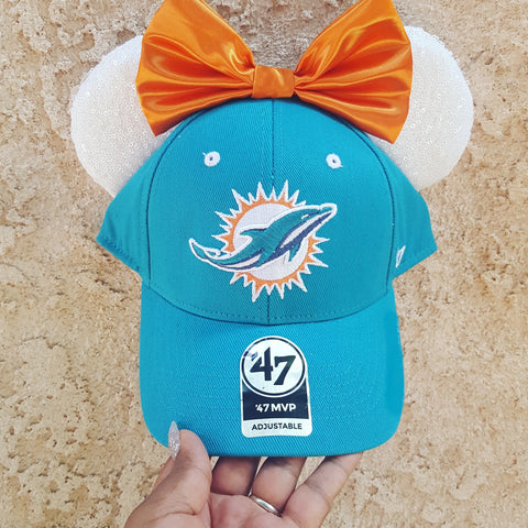 Mouse Ear Team Hat- Dolphins