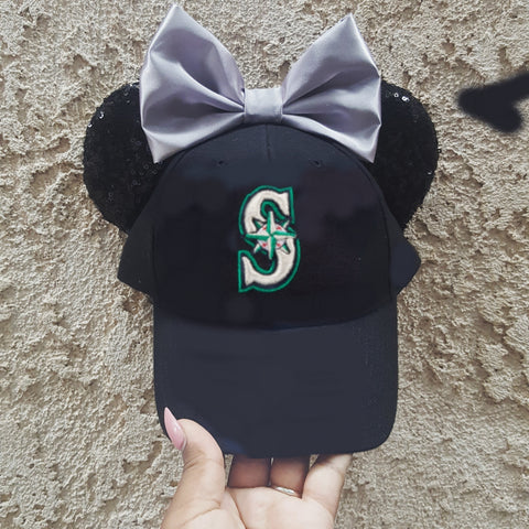Mouse Ear Team Hat- Seattle Mariners
