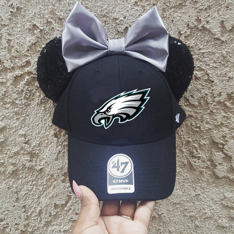 Mouse Ear Team Hat- Eagles