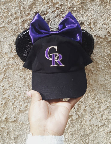 Mouse Ear Team Hat- Rockies