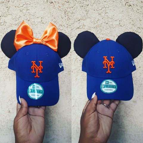 Mouse Ear Team Hat- New York Mets