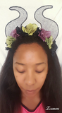Light Up Mistress of Evil Flower Crown