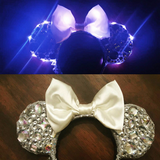 Light Up Rainbow Diamond Ears
