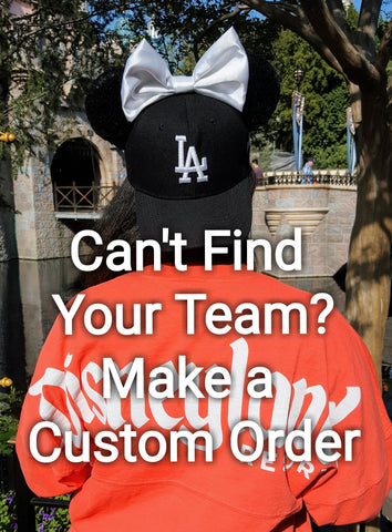 Mouse Ear Team Hat- Custom Order