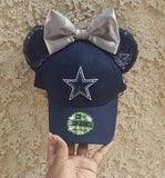 Mouse Ear Team Hat- Cowboys