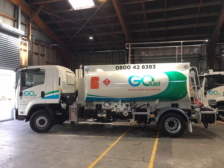 New GOfuel Mini Tankers about to hit the road