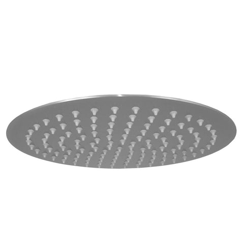 "Opella's 308.012.280 12"" Ultra Thin Round Shower Head - Brushed Nickel"