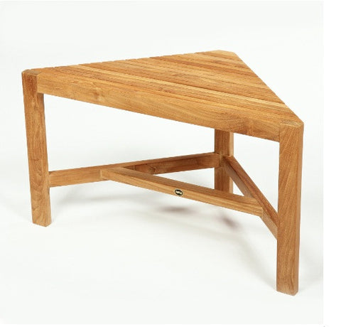 BEN529 ARB SPA Teak - Fiji Collection - Teak Corner Shower Bench 31.5