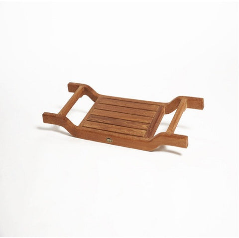 ACC537 ARB Teak Coach Bath Tub Seat- Caddy - Flat Seat  34.5 inches