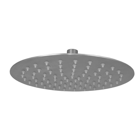 "Opella's 308.010.280 10"" Ultra Thin Round Shower Head - Brushed Nickel"