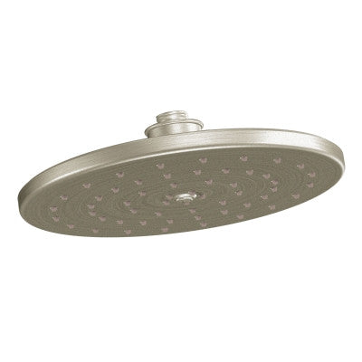 "Moen S112EPBN Waterhill Brushed Nickel One-Function 10"" Eco-Friendly Rain Showerhead"
