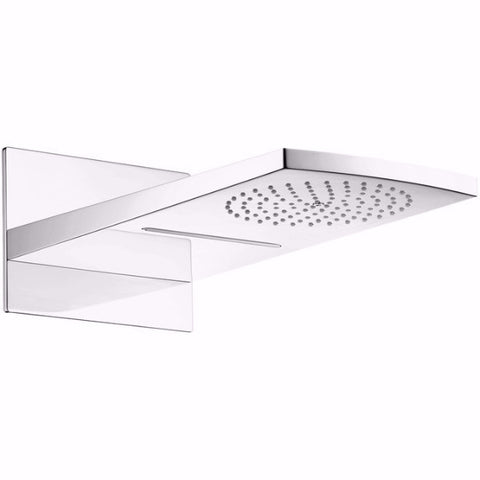 Hansgrohe Raindance Rainfall  Chrome AIR 180 2-Jet Rain Shower head Trim 28433001 - Cloud 9 Shower Heads