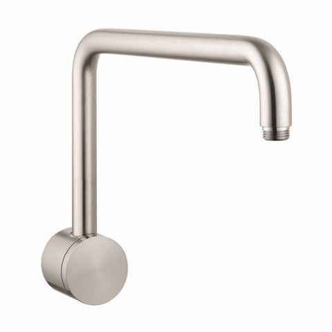 Hansgrohe Brushed Nickel Raindance Showerarm 06476820 for Rain Shower Head - Cloud 9 Shower Heads