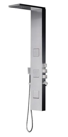 Fresca Modena Stainless Steel (Brushed Silver) FSP8011BS Shower Massage Panel - Cloud 9 Shower Heads