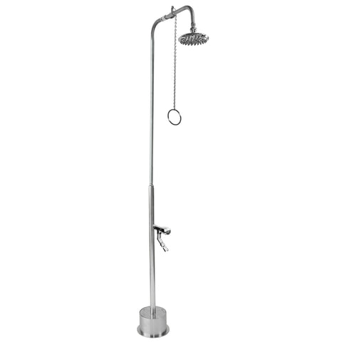 "6"" Shower Head, Foot Shower BS-1200-PCV-ADA"