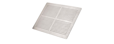 "Aquabrass 820 14"" x 19 5/8"" Recessed Rainhead"