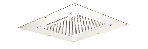 "Aquabrass 928 CURA 24"" X 24"" RECESSED RAIN HEAD"