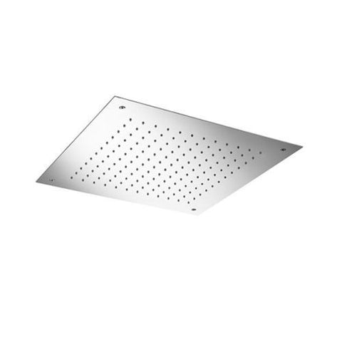 "BLU BATHWORKS TE702 RECESSED SQUARE 19"" SHOWER HEAD"