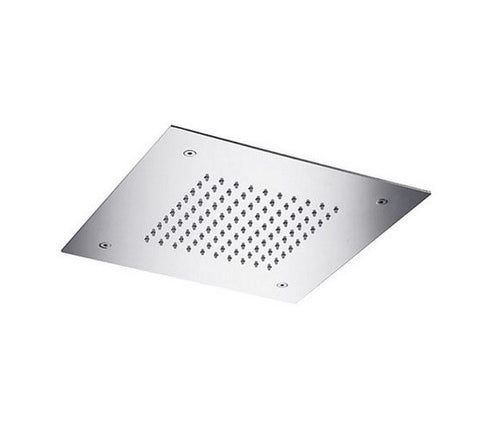 "BLU BATHWORKS TE701 RECESSED SQUARE SHOWER HEAD 15""X15"""