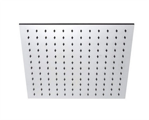 "BLU BATHWORKS TOX440-S INOX STAINLESS STEEL 15"" SQUARE SHOWER HEAD"
