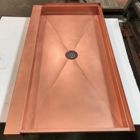 Frigo Design Copper Shower Pans