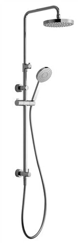 Nikles Shower system 1 Telescopic - PU180 - PU105 Chrome