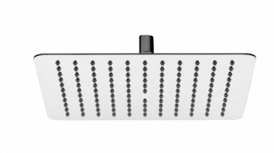 Nikles Stainless steel shower head Piano square 250 Chrome