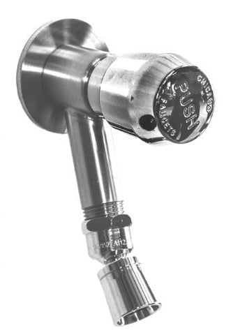 Outdoor Shower Co. WMFS-442-ADA-SS - Stainless Steel ADA Metered Push Valve