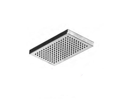 "Outdoor Shower Co 10"" x 5 1/2"" Rectangular Shower Head - 316 Stainless Steel FTA-S09-SH"