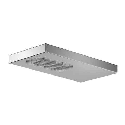 "Outdoor Shower Co 4 1/2"" x 9"" Concealed Rectangular Shower Head - 316 Stainless Steel FTA-SA300S-SH"