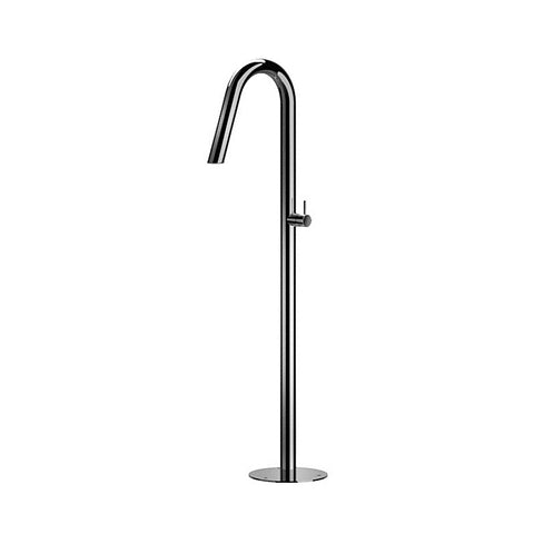 Outdoor Shower Co Free Standing Tub Filler - Hot & Cold FTA-CS40V-HC