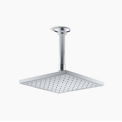 "Kohler Square K-45200 8"" Rain Shower Head - Cloud 9 Shower Heads"