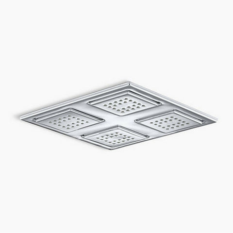 Kohler WaterTile® K-98740 Rain Overhead Showering Panel - Cloud 9 Shower Heads