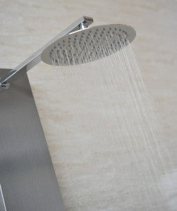 ... Valore Full Install Stainless Steel VS 2001 Shower Panel With Rain  Shower Head   Cloud