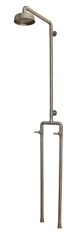 "SONOMA FORGE WB-SHW-1040 EXPOSED OUTDOOR SHOWER UNIT W/ 8"" RAIN HEAD"