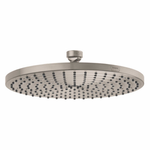 "Hansgrohe 27474821 10"" Brushed Nickel Raindance Air Rain Shower head - Cloud 9 Shower Heads"