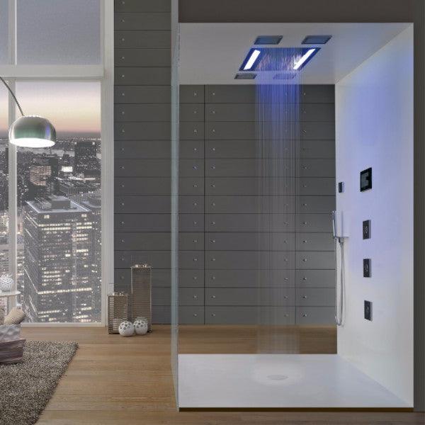 Graff Aqua Sense LED Rain Shower Head System G-8221 – Cloud 9 Showers