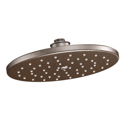 "Moen S112EPNL Waterhill Polished Nickel One-Function 10"" Eco-Friendly Rain Showerhead"