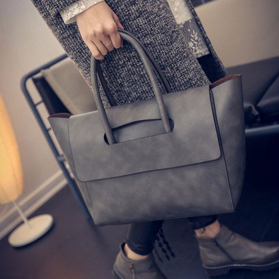 Trapeze Designer Handbag High Quality PU