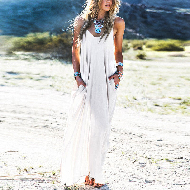 Boho Chic Beach Dress - AmeiThings