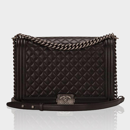 Chanel Jumbo Classic Flap Black Cross Body Bag - AmeiThings