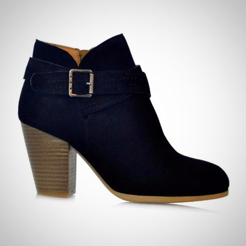 MUSSI Colombian Medium Heels Boots
