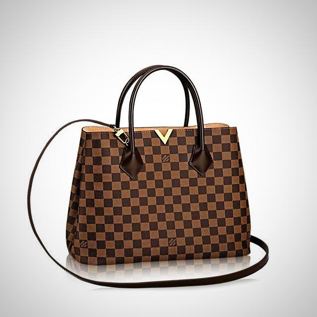 Louis Vuitton Kensington Damier Ebene Canvas Handbags