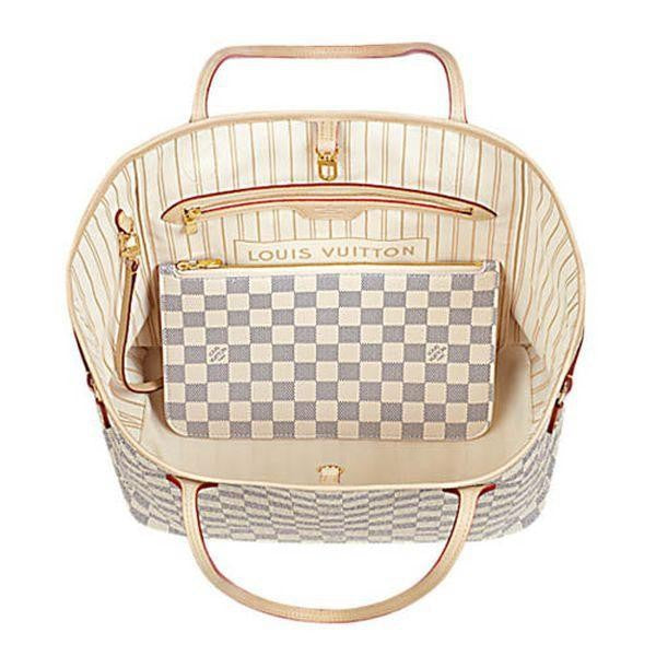 Louis Vuitton Damier Azur Canvas Neverfull