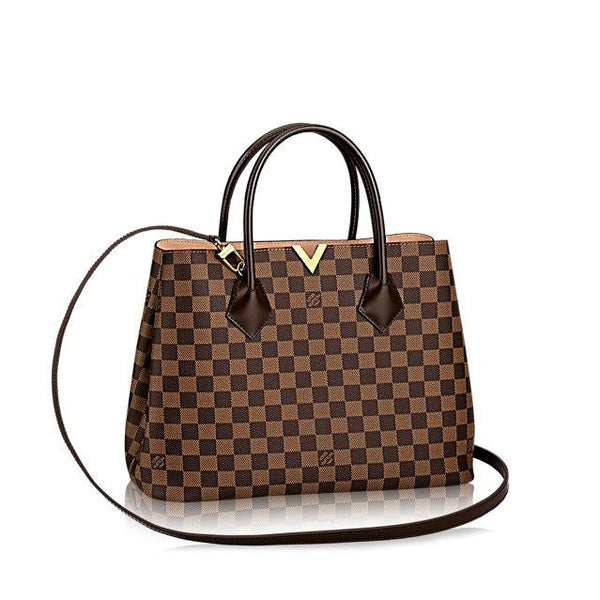 Louis Vuitton Kensington Damier Ebene Canvas Handbags N41435